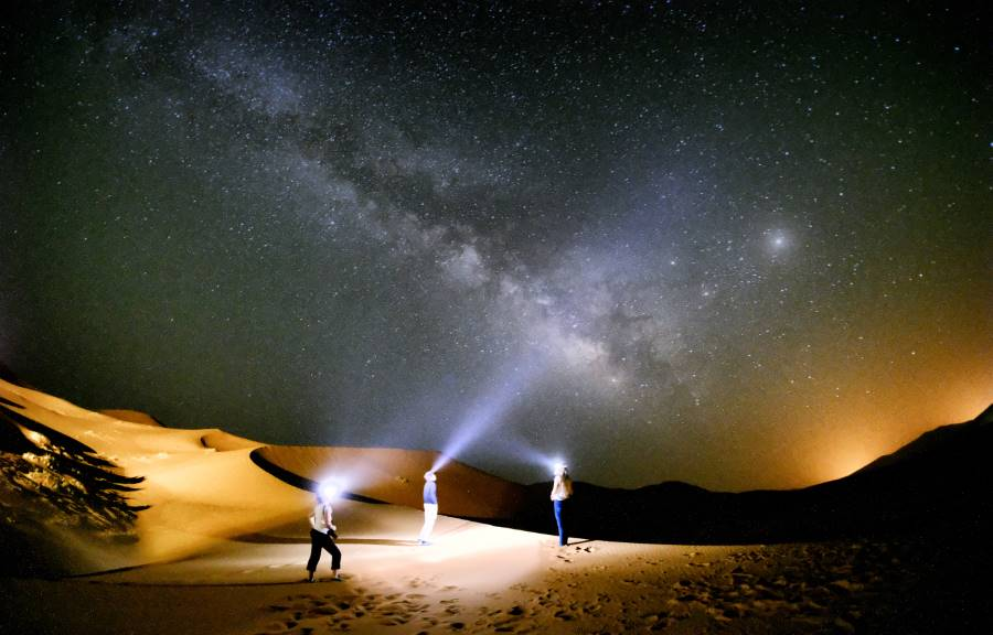 draa valley milky way