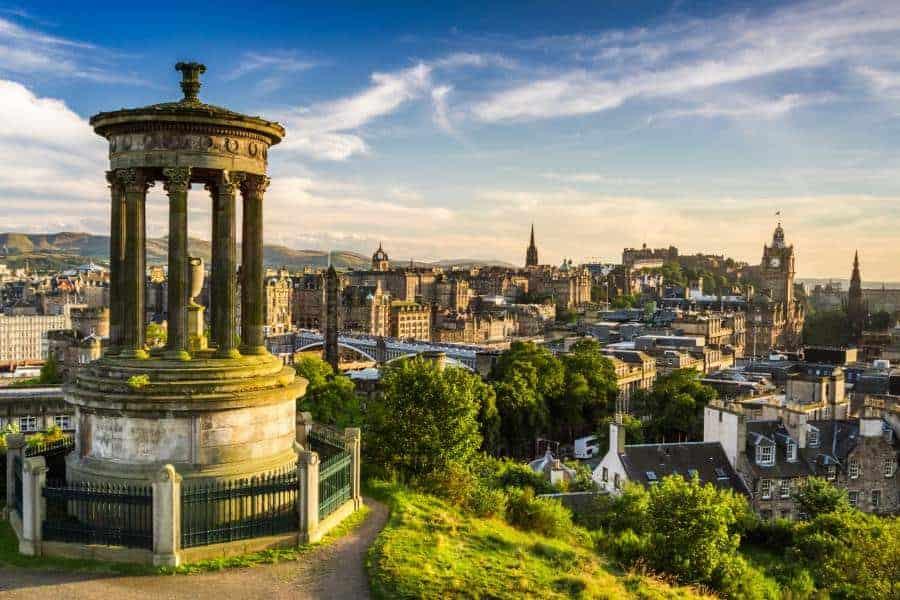 the city of Edinburgh