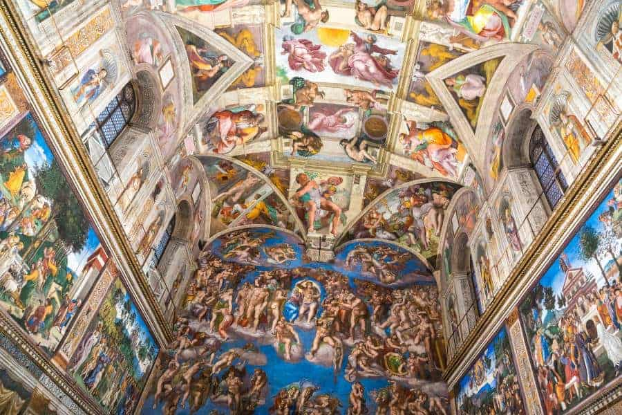 Sistine chapel in the Vatican