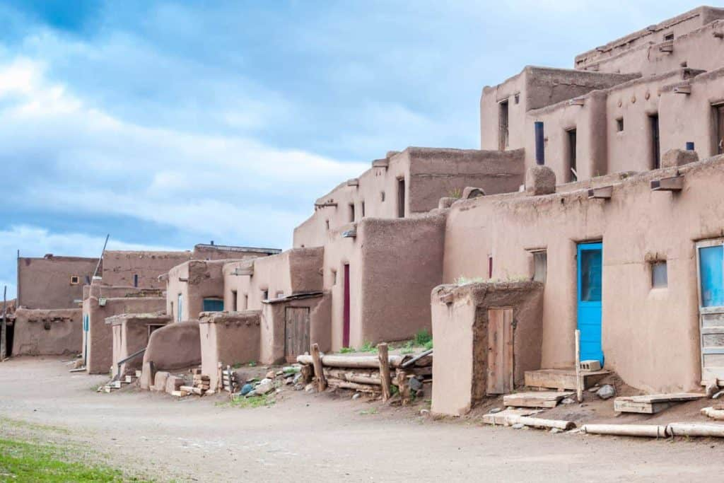 Pueblo Indians of Arizona and New Mexico.