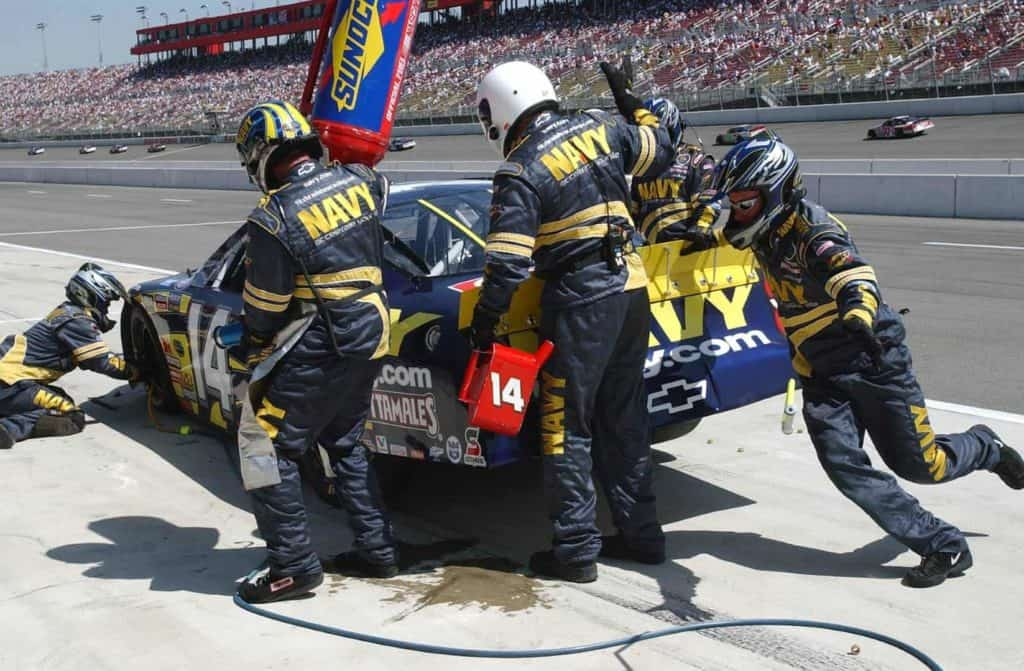 nascar pit crew bucket list
