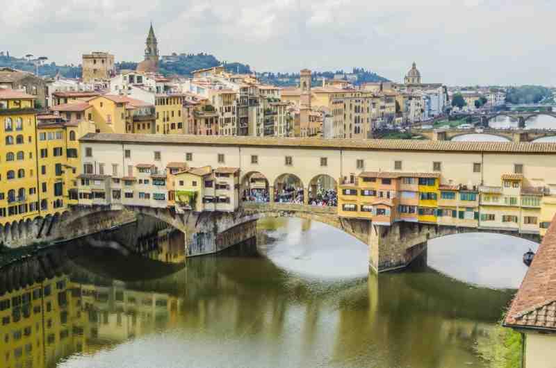 bridge vecchio of florence