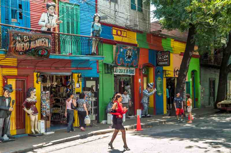 In The Streets of La Boca - Buenos Aires