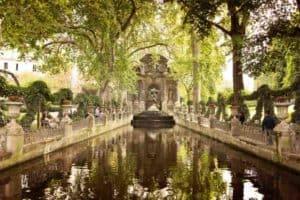 Medici Fountain in the Luxembourg Garden, Paris