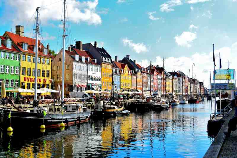 nyhavn district Copenhagen