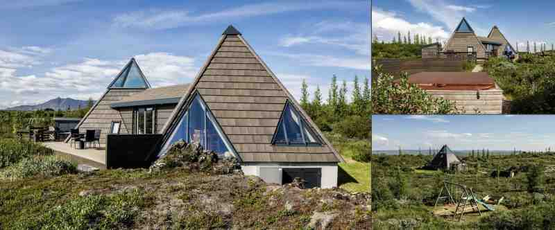 Icelandic Pyramids accomodation