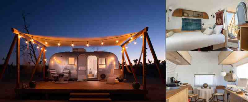 Airstream Camping in Joshua Tree