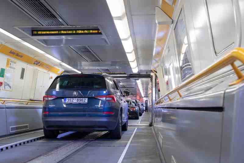 eurotunnel for cars