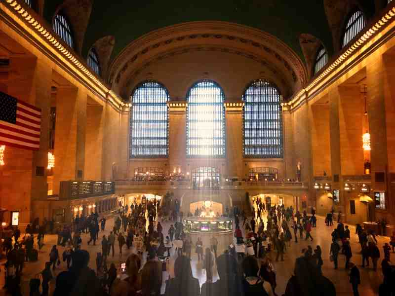 main room of the grand central terminal