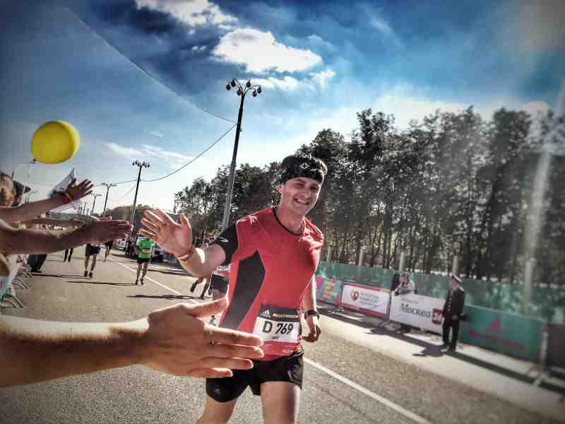 completing a marathon