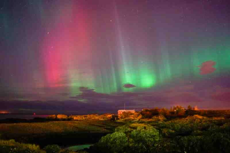 the nothern lights